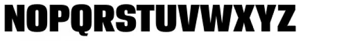 Breuer Headline Regular Font UPPERCASE