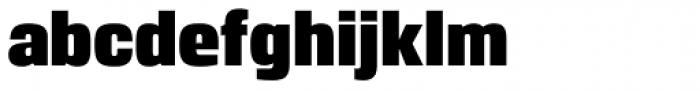 Breuer Headline Regular Font LOWERCASE