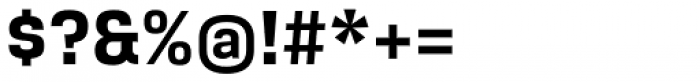 Breuer Text Bold Font OTHER CHARS