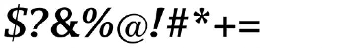 Breughel Bold Italic Font OTHER CHARS