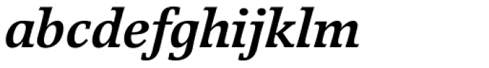 Breughel Bold Italic Font LOWERCASE