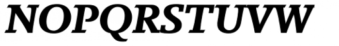 Breughel Std 76 Black Italic Font UPPERCASE