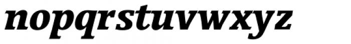 Breughel Std 76 Black Italic Font LOWERCASE