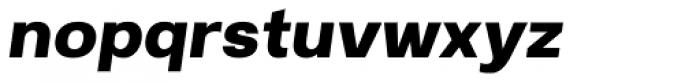 Breul Grotesk A Bold Italic Font LOWERCASE