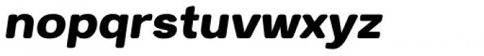 Breul Grotesk B Bold Italic Font LOWERCASE