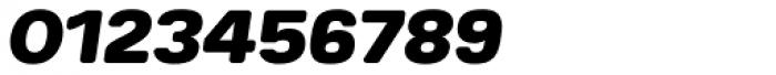 Breul Grotesk B Heavy Italic Font OTHER CHARS
