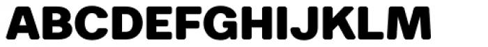 Breul Grotesk B Heavy Font UPPERCASE