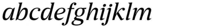 Breve News Book Italic Font LOWERCASE