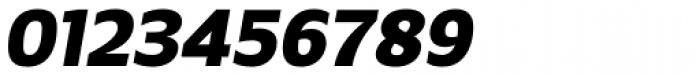 Breve Sans Text Black Italic Font OTHER CHARS