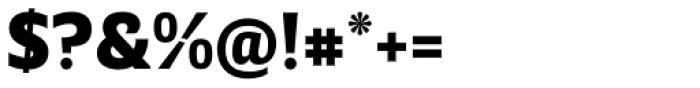 Breve Sans Text Black Font OTHER CHARS