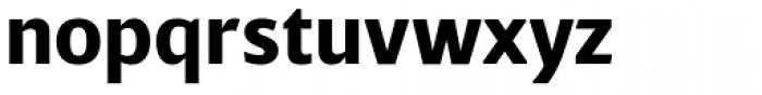 Breve Sans Text Bold Font LOWERCASE