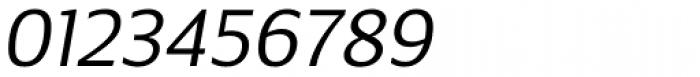 Breve Sans Text Light Italic Font OTHER CHARS