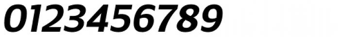 Breve Sans Text Semi Bold Italic Font OTHER CHARS