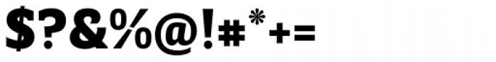 Breve Slab Text Black Font OTHER CHARS