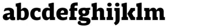 Breve Slab Text Black Font LOWERCASE