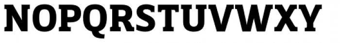Breve Slab Text Bold Font UPPERCASE