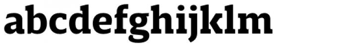 Breve Slab Text Bold Font LOWERCASE