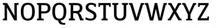 Breve Slab Text Book Font UPPERCASE