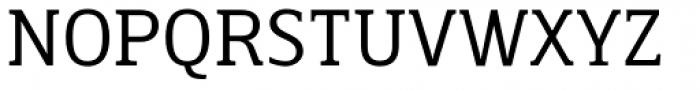 Breve Slab Text Light Font UPPERCASE