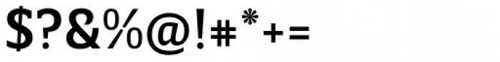 Breve Slab Text Medium Font OTHER CHARS