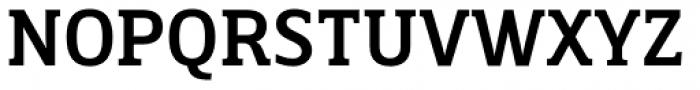 Breve Slab Text Medium Font UPPERCASE