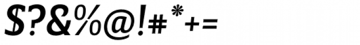 Breve Slab Title Medium Italic Font OTHER CHARS