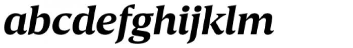 Breve Text Bold Italic Font LOWERCASE