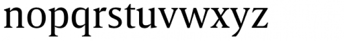 Breve Text Book Font LOWERCASE
