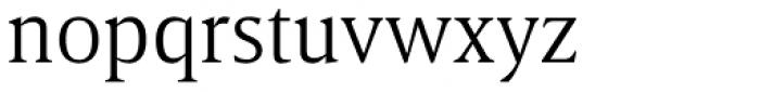 Breve Text Light Font LOWERCASE