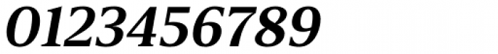 Breve Text Semi Bold Italic Font OTHER CHARS