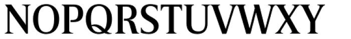 Breve Title Medium Font UPPERCASE