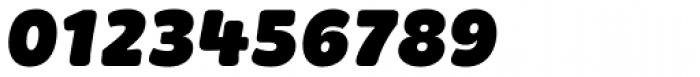 Brevia ExtraBlack Italic Font OTHER CHARS