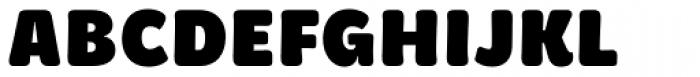 Brevia ExtraBlack Font UPPERCASE