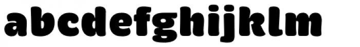 Brevia ExtraBlack Font LOWERCASE