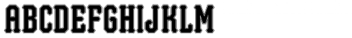 Brew Inline Font UPPERCASE