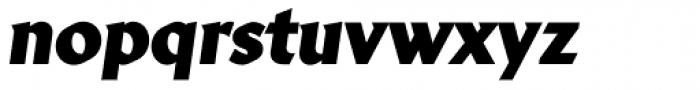 Brewery No2 Pro Black Italic Font LOWERCASE