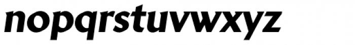 Brewery No2 Pro Heavy Italic Font LOWERCASE