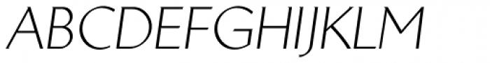 Brewery No2 Pro Light Italic Font UPPERCASE