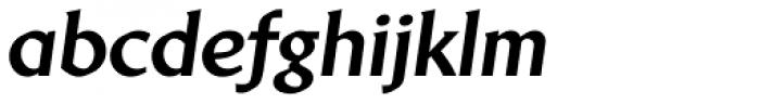 Brewery No2 Pro XBold Italic Font LOWERCASE