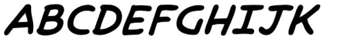 Brian Bolland Bold Italic Font UPPERCASE