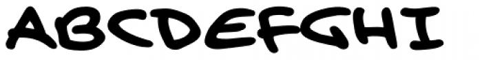 Brian Bolland Journal Font UPPERCASE