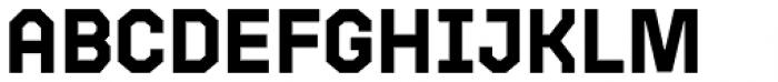 Bric Sans Bold Font UPPERCASE