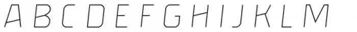 Brickton Lines Slanted Font LOWERCASE
