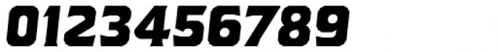 Brickton Regular Slanted Font OTHER CHARS