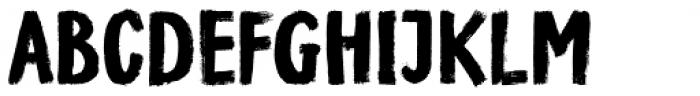 Bridgewater Font UPPERCASE