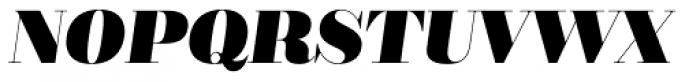 Bridone Titling Heavy Italic Font UPPERCASE