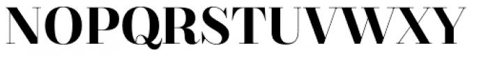Bridone Titling Font UPPERCASE