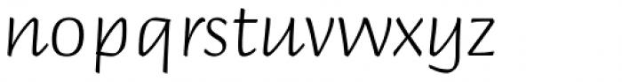 Briem Script Std Light Font LOWERCASE