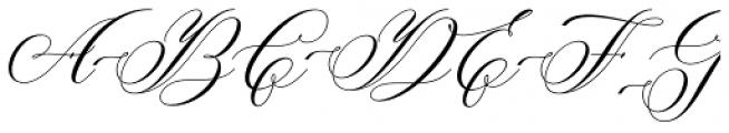 Brigattin Regular Font UPPERCASE