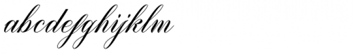 Brigattin Regular Font LOWERCASE
